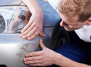 scratched bumper repair