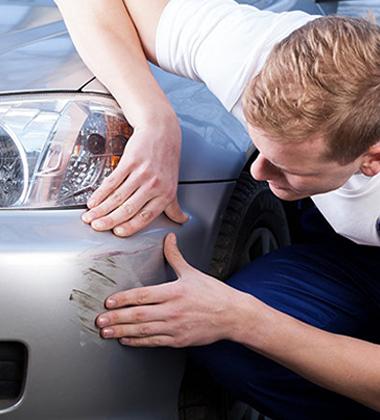 Bumper scratch repairs