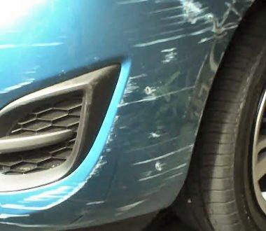 bumper scrape repairs