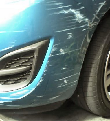 how to fix scrapes on car